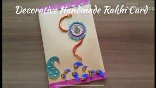 DIY | Decorative Handmade Rakhi Card | Designer Card | Best Out Of Waste