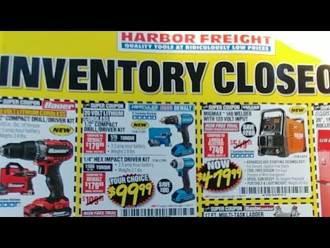 Harbor Freight Live Pt. 4...Wow!