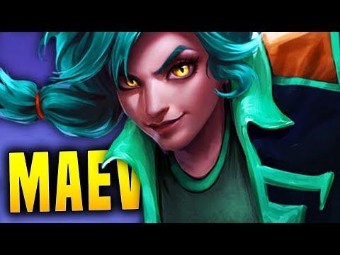 I CAN FINALLY PLAY MAEVE!! | Paladins Maeve Gameplay & Build