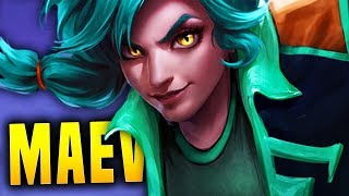 I CAN FINALLY PLAY MAEVE!! | Paladins Maeve Gameplay & Build