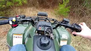 Moto Vlog Ep 1---Honda Recon 250