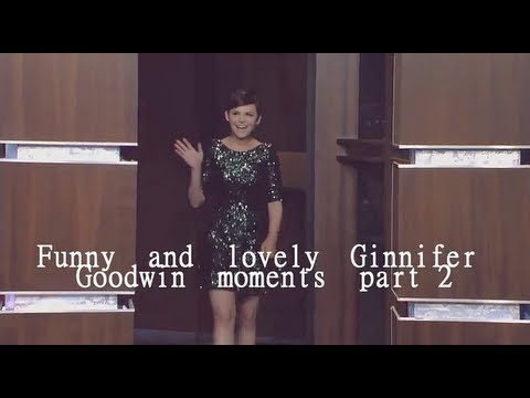 Funny and lovely Ginnifer Goodwin moments PART 2