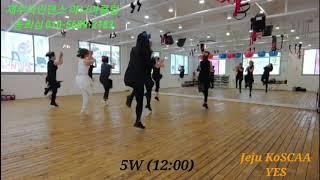 Yes - Line Dance / Jeju KoSCAA…