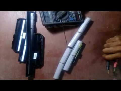 How to repair a damaged leptop battery