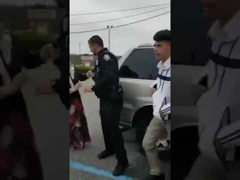 Police cruelty on family