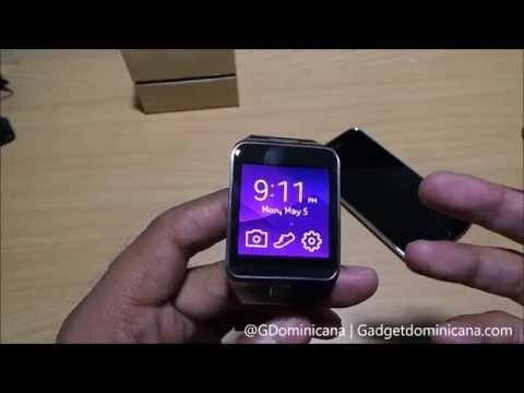 Desempaquetado Samsung GEAR 2 en Espanol