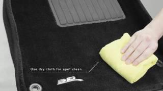 3D ® | Custom Molded Carpet Floor Liner Maintenance
