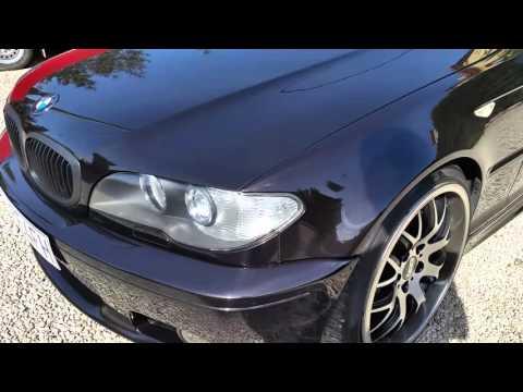 BMW E46 coupe shows