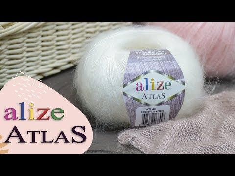 Обзор пряжи Alize Atlas (Ализе Атлас). НОВИНКА! Шерсть с полиэстером