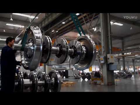 Wheel manufacturing of high speed railway B