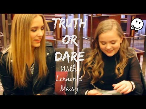TRUTH OR DARE With Lennon & Maisy - Part 1