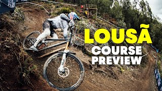 Gee Atherton's Introduction to Lousa Downhill World Cup | GoPro Downhill Course Preview