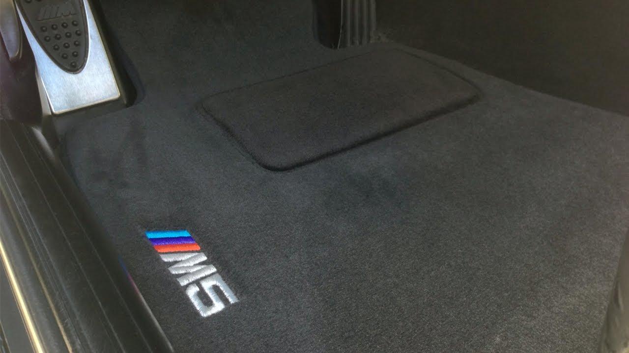 BMW E39 M5 Floor Mats  YouTube