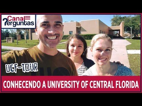Visitando universidade nos EUA – University of Central Florida (UCF) ✔