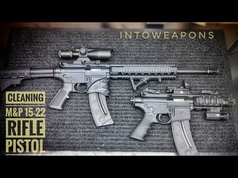How to Clean M&P 15-22 Rifle:  General Cleaning Process