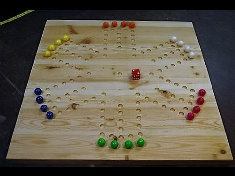 How To Make A Marble Game Board Woodlogger YouTube Interesting Homemade Wooden Board Games