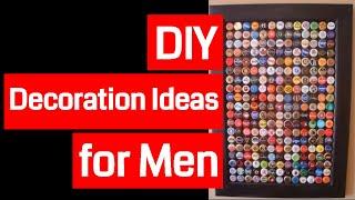 DIY Decoration Ideas for Men