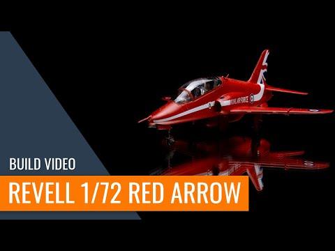 ⚒️RED ARROW Hawk T.1 Revell 1/72 Aircraft Plastic Model Making