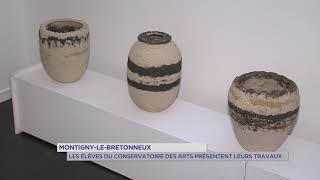 Montigny-le-Bretonneux : Les élèves du Conservatoire des Arts présentent leurs travaux