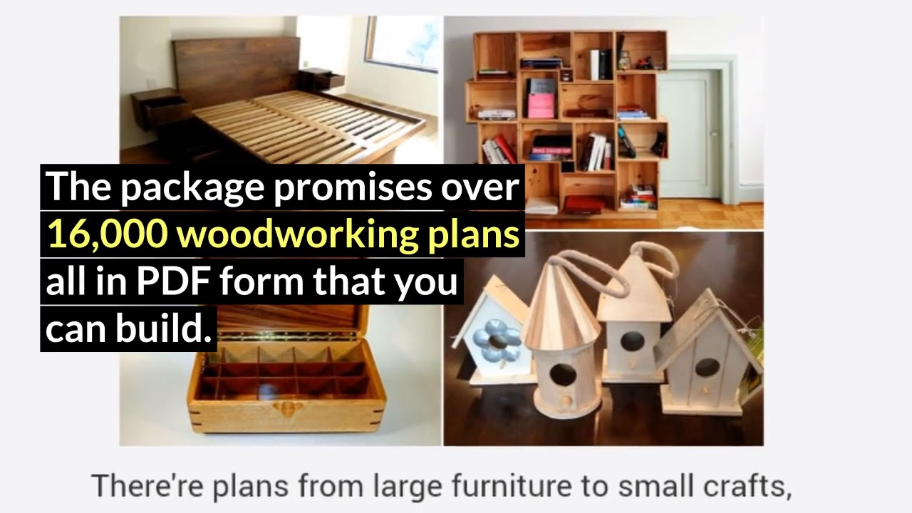 Modern furniture plans for the diy woodwork