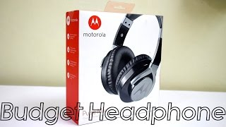Motorola Pulse Max - Wired Headphone | Unboxing and Overview