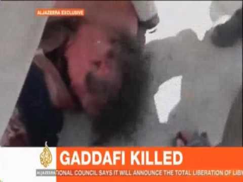 Libyan Leader Colonel Gadaffi Killed