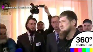 Рамзан Кадыров проголосовал на избирательном участке в селе Центарой