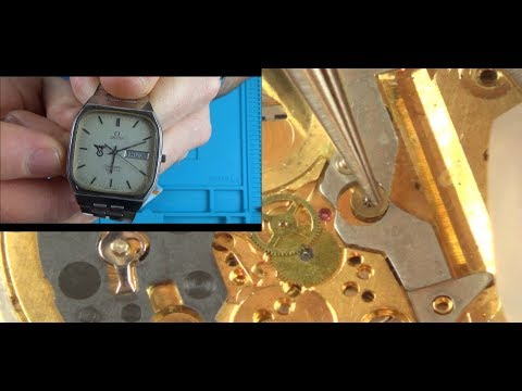 Trying To FIX The Cheapest OMEGA Watch On EBay