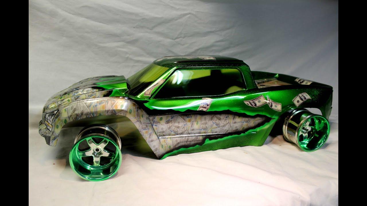 Skull Painted Car