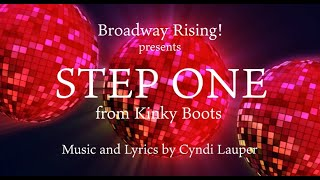 """Broadway Rising! presents, """"Step One"""" from the musical Kinky Boots."""