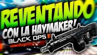 """CAMUFLAJE DE DIAMANTE / REVENTANDO CON HAYMAKER 12 """"BLACK OPS 3"""""""