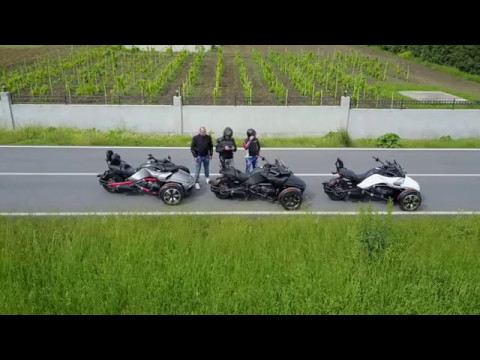Canam Spyder F3S race travel istanbul turkey