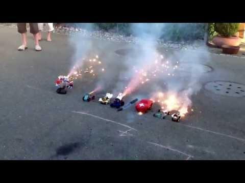 Vulkan Auto 1. August 2013 Massenstart
