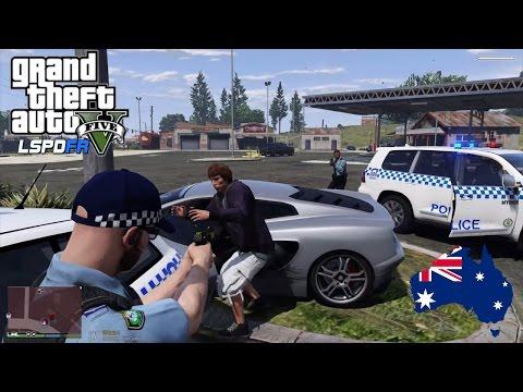 GTA 5 NSW Police Mod: Paleto Bay Holden Sportswagon Patrol (Play GTA 5 as a cop mod for PC)