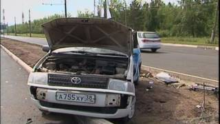 Видеорегистратор снял серьёзное ДТП в Братске(, 2016-08-15T11:42:45.000Z)