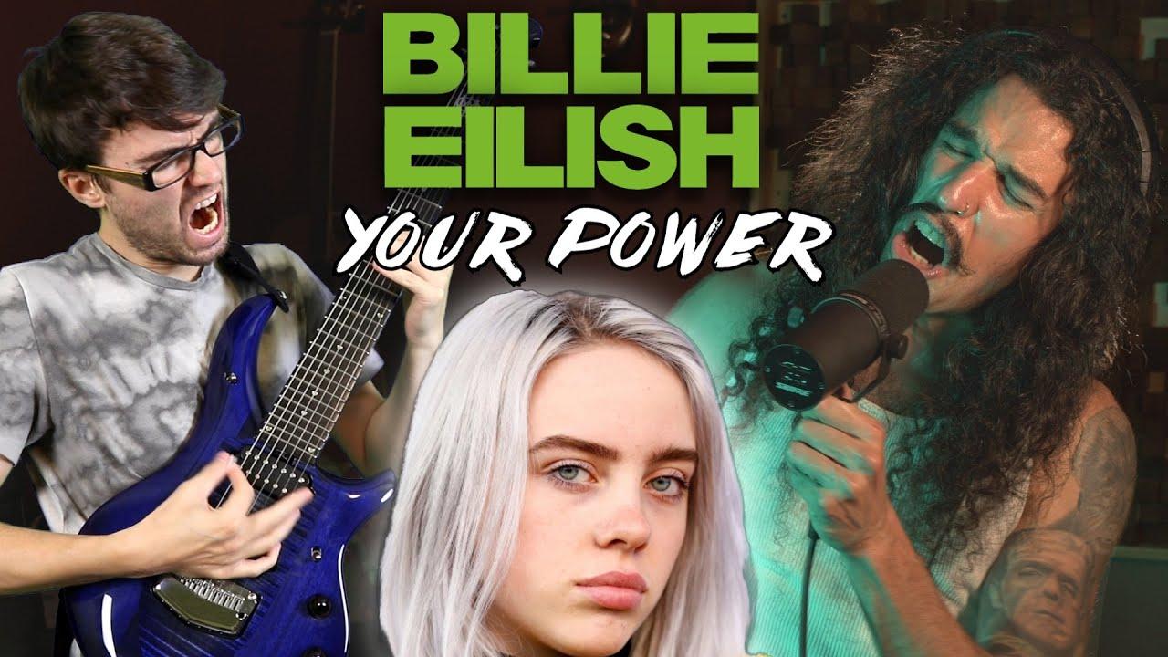 Billie Eilish - Your Power (METAL COVER) Stevie T ft. Anthony Vincent