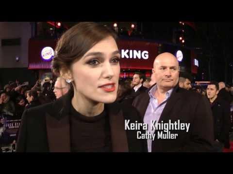 Keira Knightley Interview: Jack Ryan: Shadow Recruit Premiere