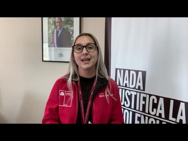 Saludo de la Seremi de la Mujer, María José Palma, en un nuevo aniversario de la región.