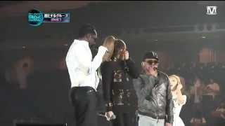 2011 MAMA rehearsal #1 - Where Is the Love - SNSD (Taeyeon & Tiffany), 2NE1 (CL), Black Eyed Peas