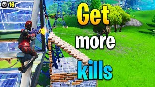 How to GET MORE KILLS in Fortnite! Fortnite tips! How to get better at Fortnite!