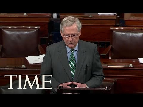 Mitch McConnell And Senate Republicans Reveal Their Largely Guarded Health Care Bill | TIME