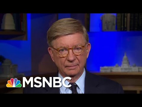 "George Will On Donald Trump-Michael Cohen Tape: ""Mr. Trump Is A Seedy Man"" 