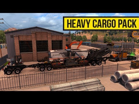Heavy Cargo Pack | Cargas Pesadas Lowboy con jeepdolly y stinger