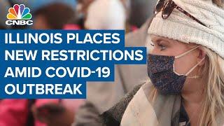 Illinois sees coronavirus outbreak, places new restrictions