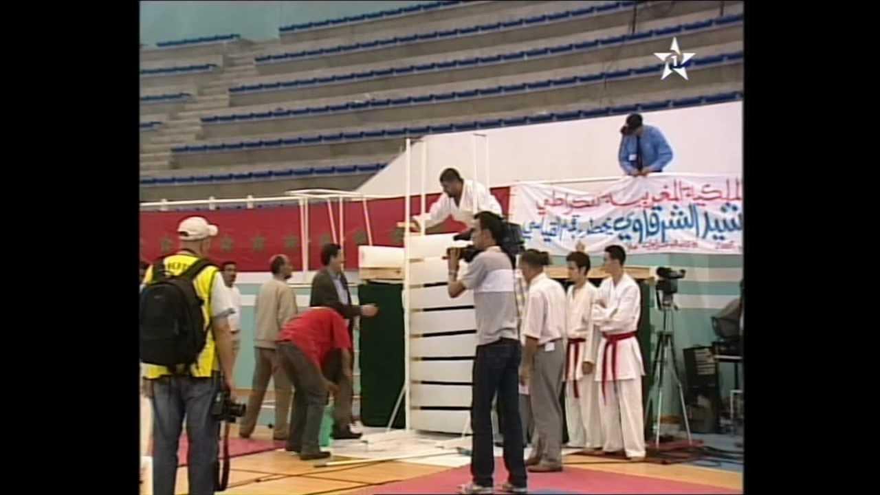 rachid cherkaoui recordmen mondial de casse 11 pains de glace qwankido karate 2007 youtube. Black Bedroom Furniture Sets. Home Design Ideas