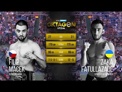 OKTAGON 7: Filip Macek vs. Zaka Fatullazade
