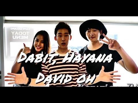 [DABIT, HAYANA, DAVID OH] - Show case - 13.08.2016 - KSTATION TV