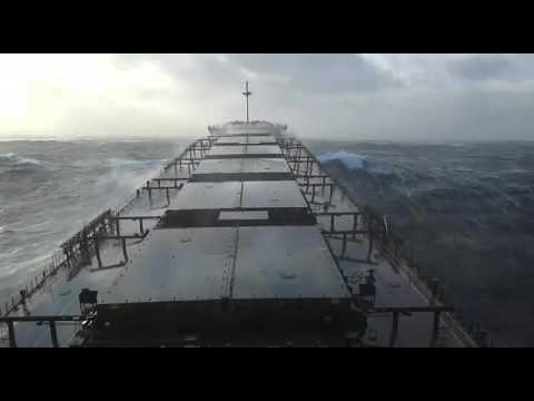 Bulk Carrier at Sea