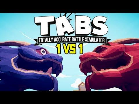 1 VS 1 ОТ ПЕРВОГО ЛИЦА ПРОТИВ КАЖДОГО - Totally Accurate Battle Simulator (TABS/ТАБС) Часть 2