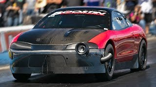 Can ANYBODY beat the Red Demon?! (1800hp Eclipse)
